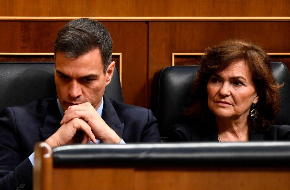 Hispaania parlament lükkas tagasi valitsuse eelarve-eelnõu ja ähvardavad ennetähtaegsed valimised