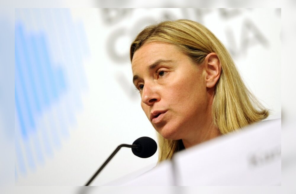 Itaalia välisminister Federica Mogherini