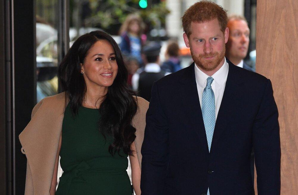 FOTO | Kas tõesti taas rase? Meghan ja Harry annavad mitmeid vihjeid beebiootusest