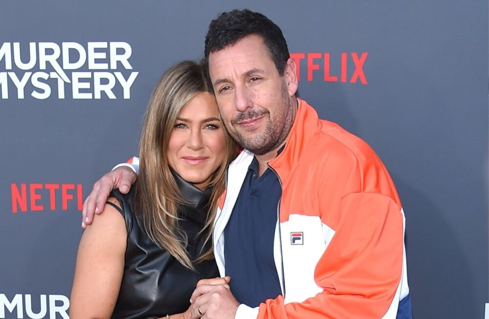 Jennifer Aniston ja Adam Sandler