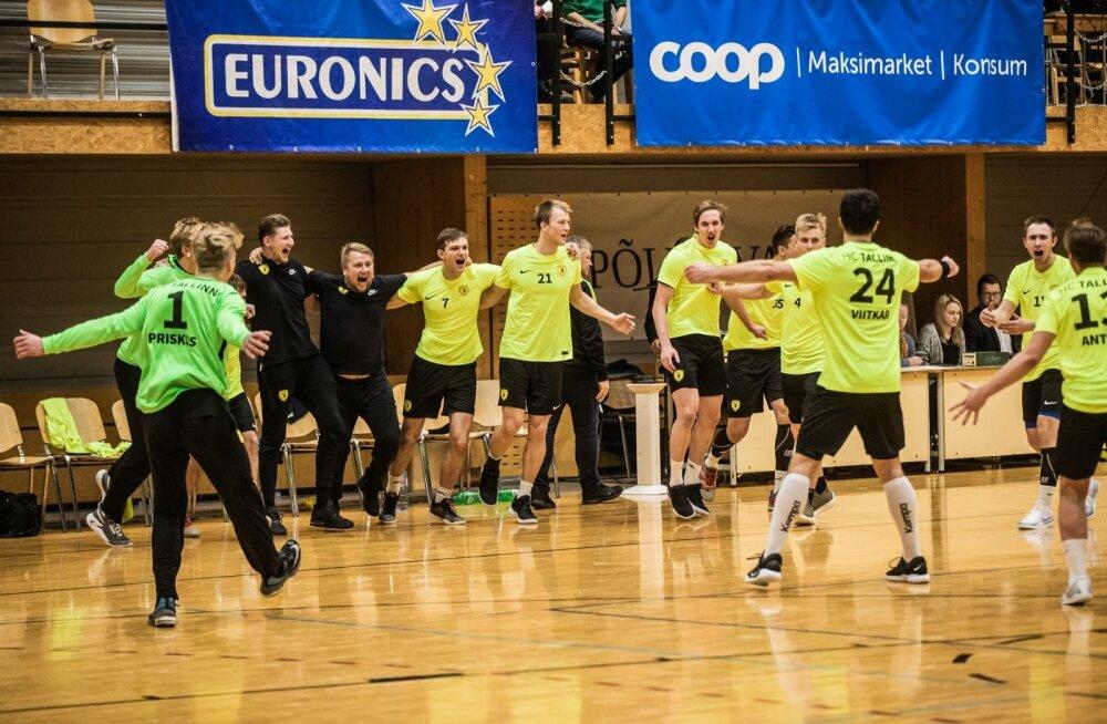 Käsipalli karikafinaal Põlva Serviti vs HC Tallinn