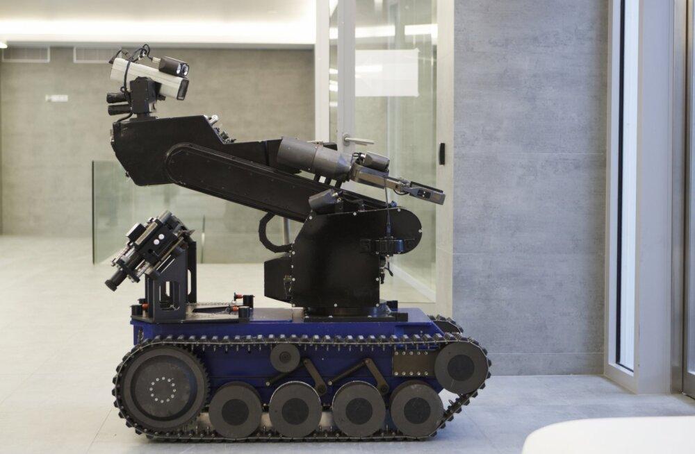 Robot tappis Dallase tulistaja. Loe, kuidas sealne politsei sellega hakkama sai