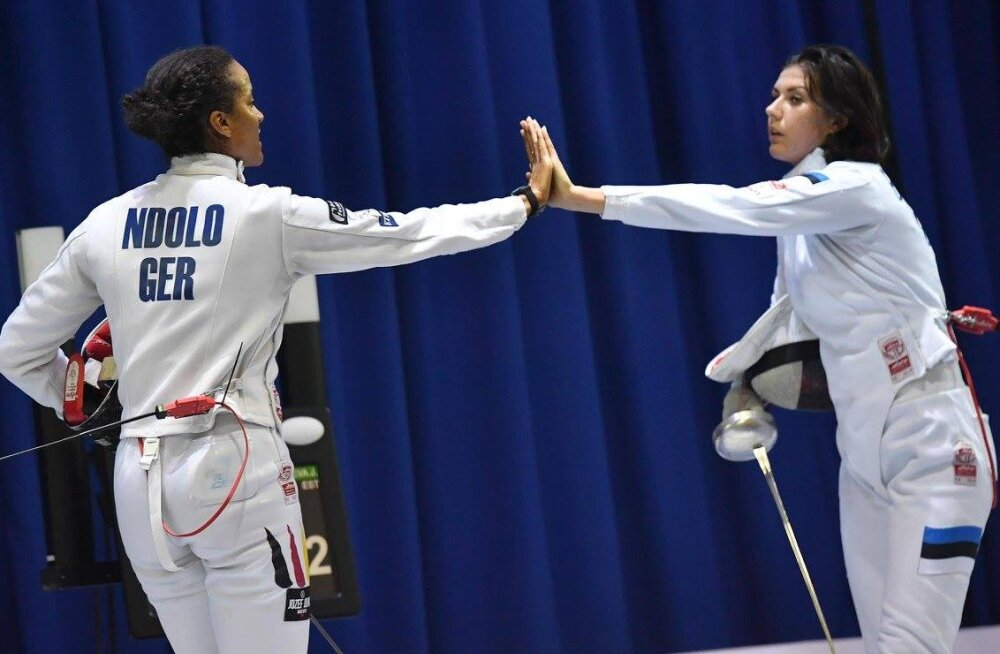Julia Beljajeva versus Alexandra Ndolo