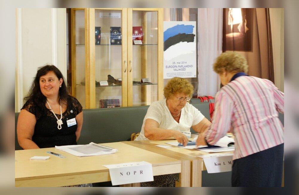 Europarlamendi valimised Viljandis