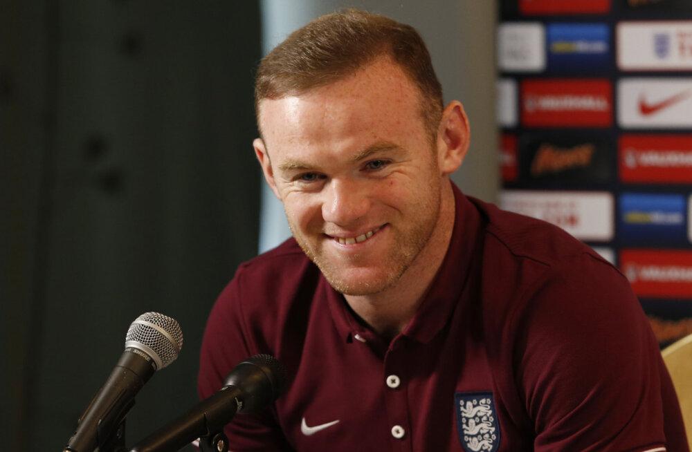 Wayne Rooney jahib uhket rekordit. Ehk juba täna?