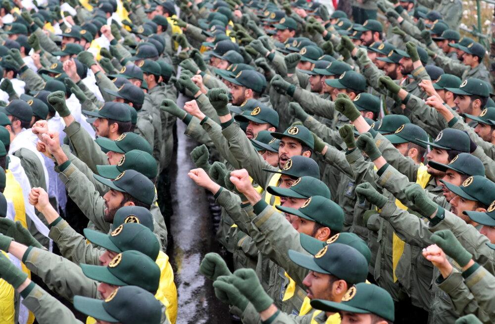 USA valmistub väidetavalt Iraani revolutsioonilist kaardiväge terroriorganisatsiooniks kuulutama