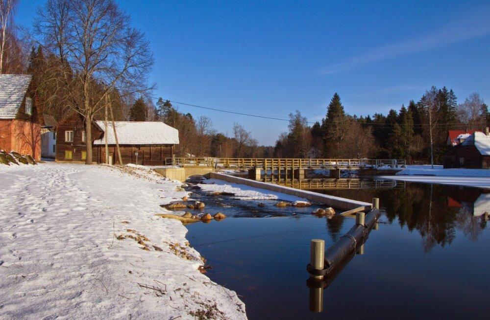 Elva jõel valmis kaasaegne kalapääs