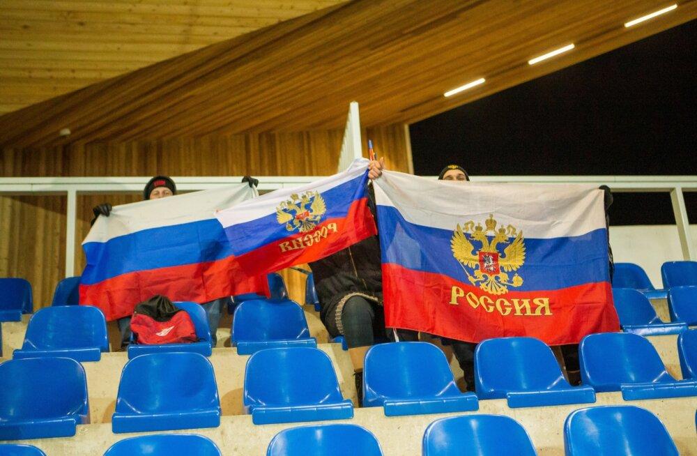 Jalgpalli U21 valikmäng  Eesti  Venemaa