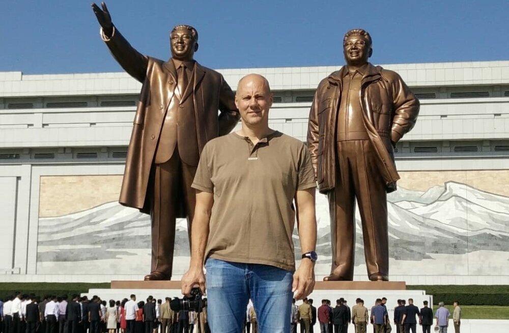 Suurte juhtide taustal lubati ka meil pildistada, aga ainult siis, kui mõlemad täispikkuses peale jäävad.