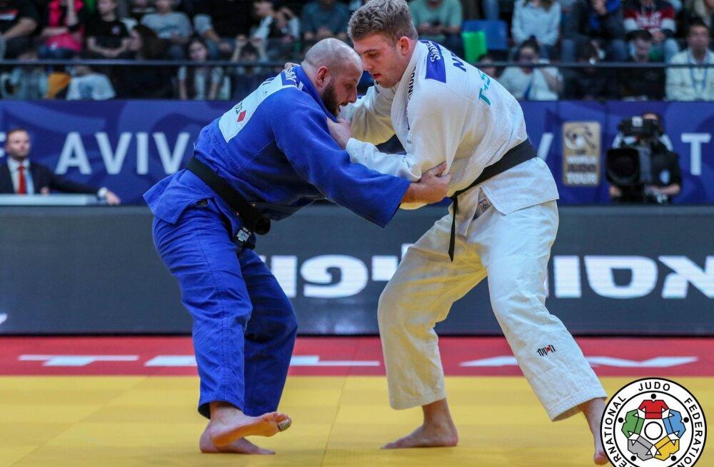 Grigori Minaškin oli judo Maroko GP-l viies, Mattias Kuusik seitsmes