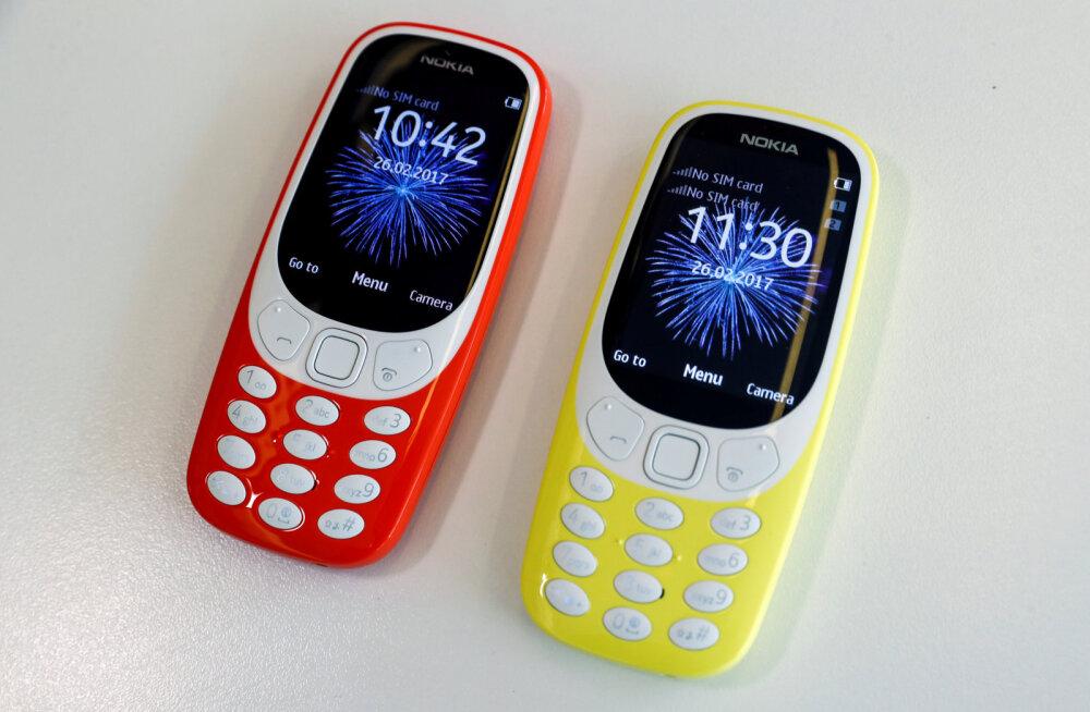 Korraks vaid: täna Eestis müügile tulnud Nokia 3310 müüdi operaatorite e-poodides mõne tunniga läbi
