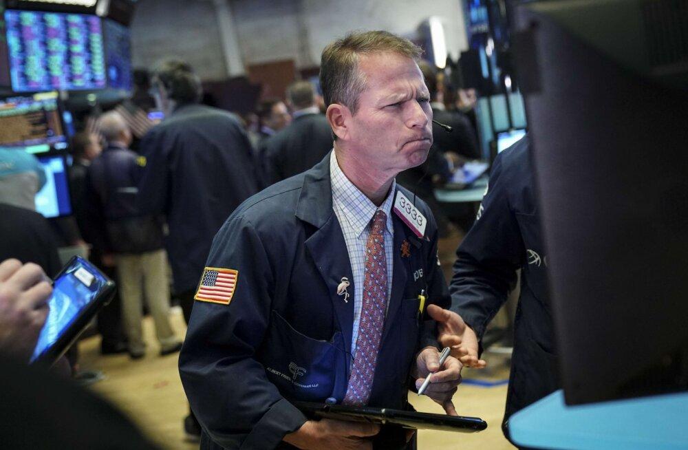 Eile oli kohutava aasta halvim börsipäev. Kärsahaisu oli tunda kõikjal