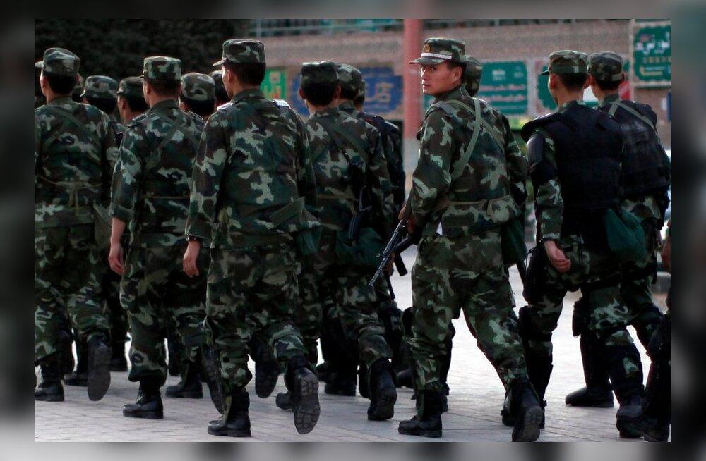 Rahutused Uiguurias on nõudnud 21 inimese elu