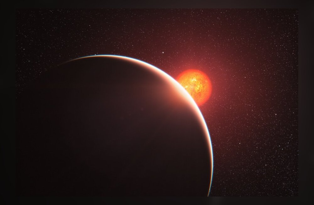 Põrkeplaneete reedab tihe atmosfäär