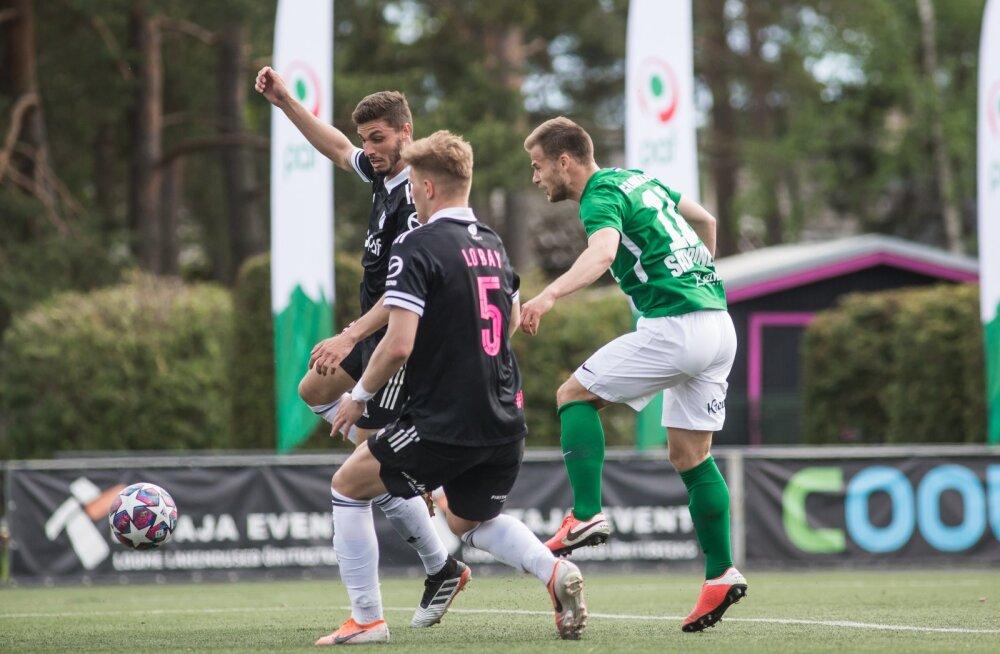 Rauno Sappinen (nr 11) on kuue vooru jooksul löönud juba kaheksa väravat.