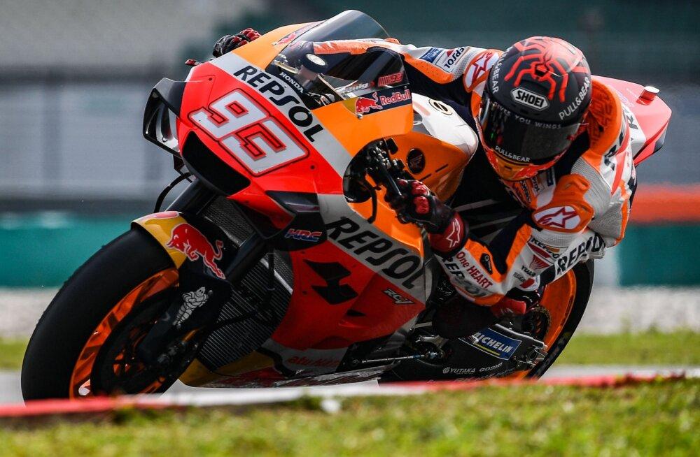 Järjekordne löök: Moto GP kaks esimest etappi jäävad koroonaviiruse tõttu ära