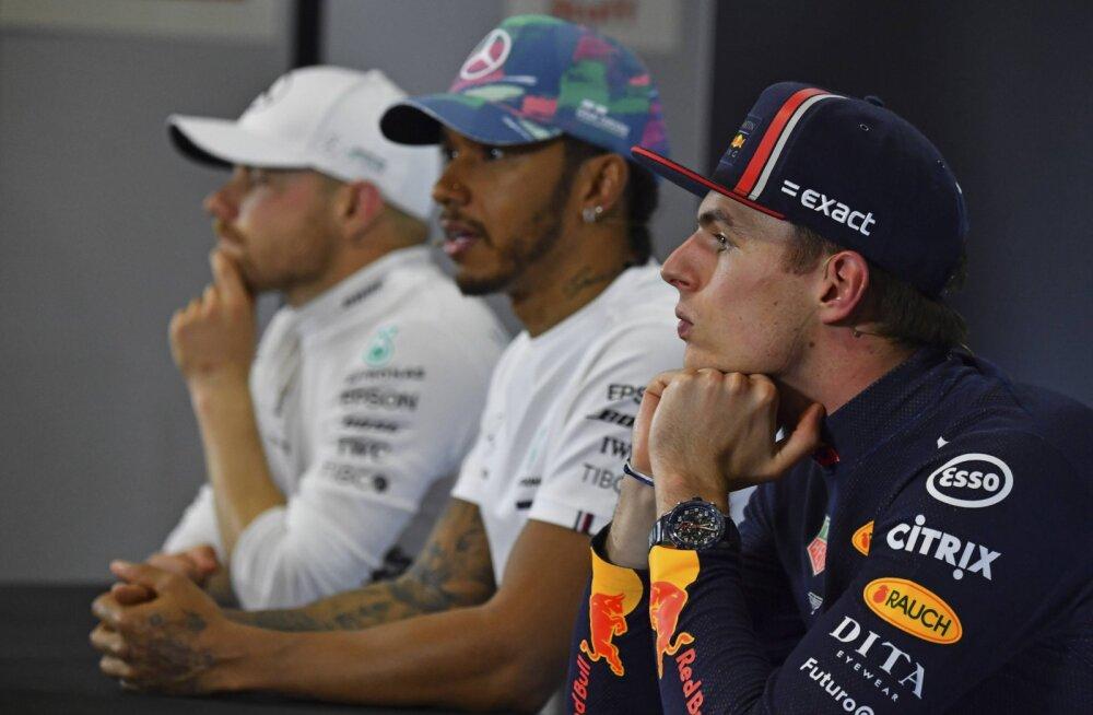 Kui raske on F1 pressikonverentsil Eesti ajakirjanikul oma küsimus vahele torgata?