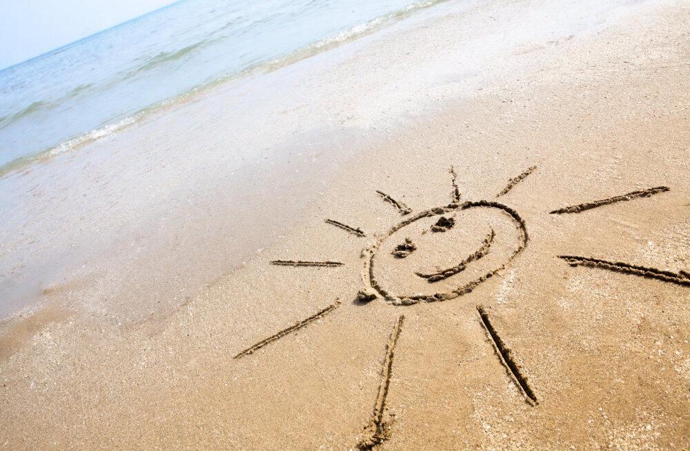Не хватает тепла? В Ülemiste City откроют тропический песчаный пляж, который будет работать круглый год!