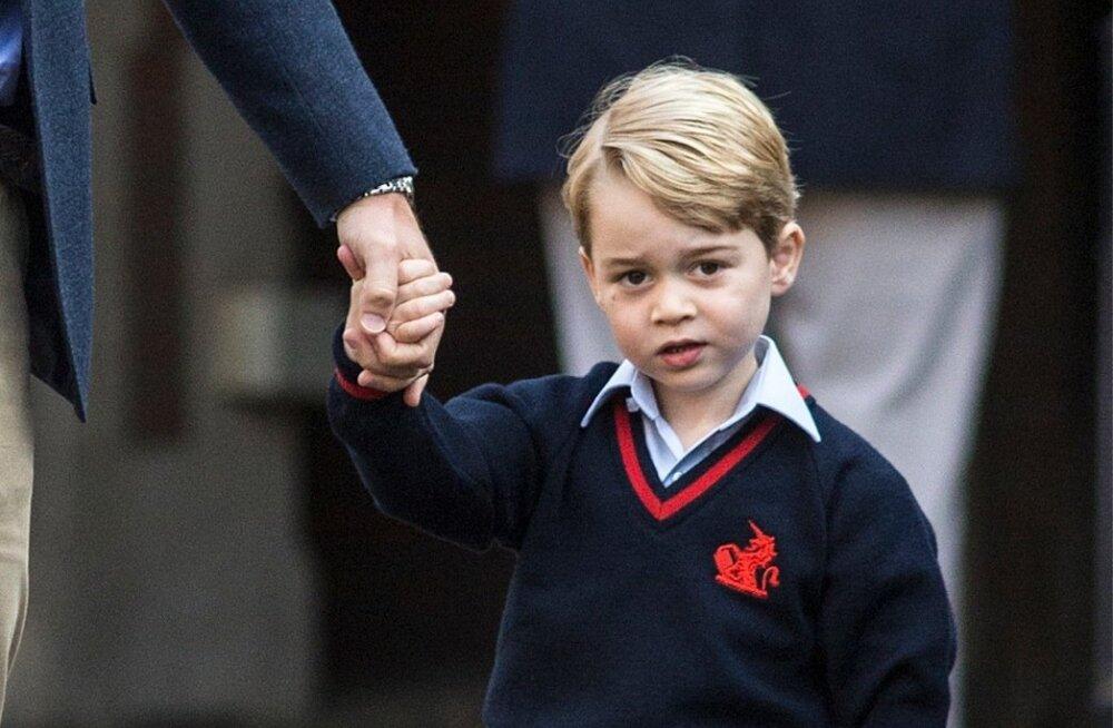 Miks küll nii? Prints George'i koolis kehtib lastele enneolematu reegel