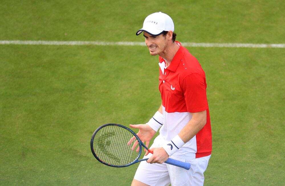 Wimbledoni segpaarismänguks partnerit otsiv Murray on juba mitmelt naiselt korvi saanud