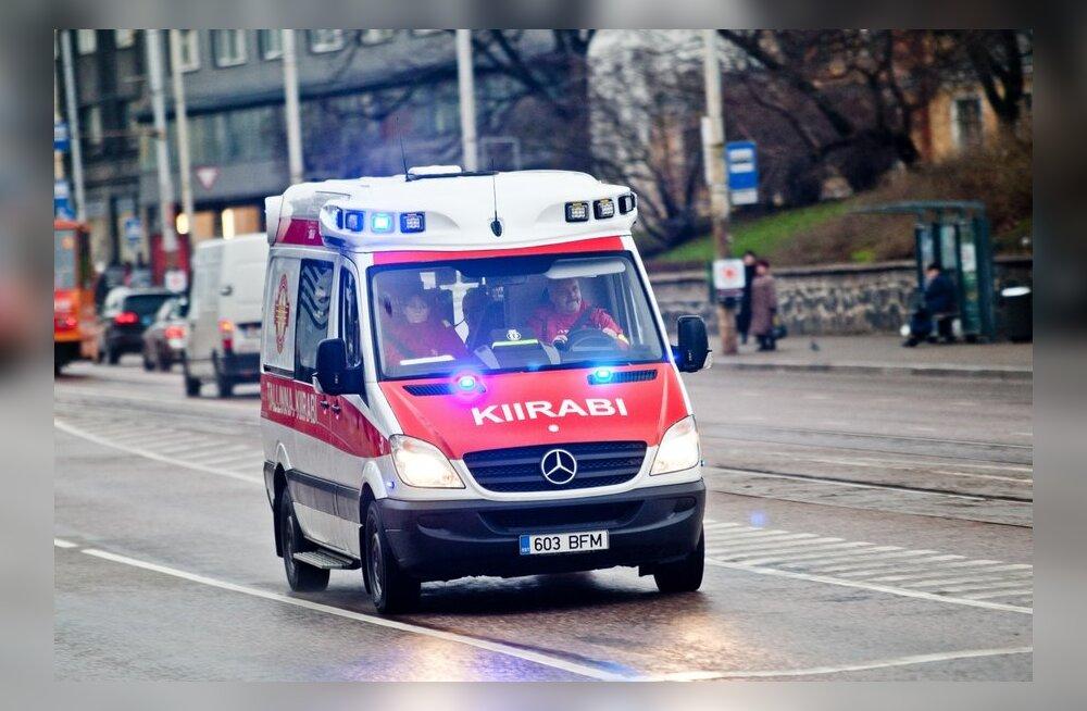 В Таллинне уже полсотни человек стали жертвами гололедицы