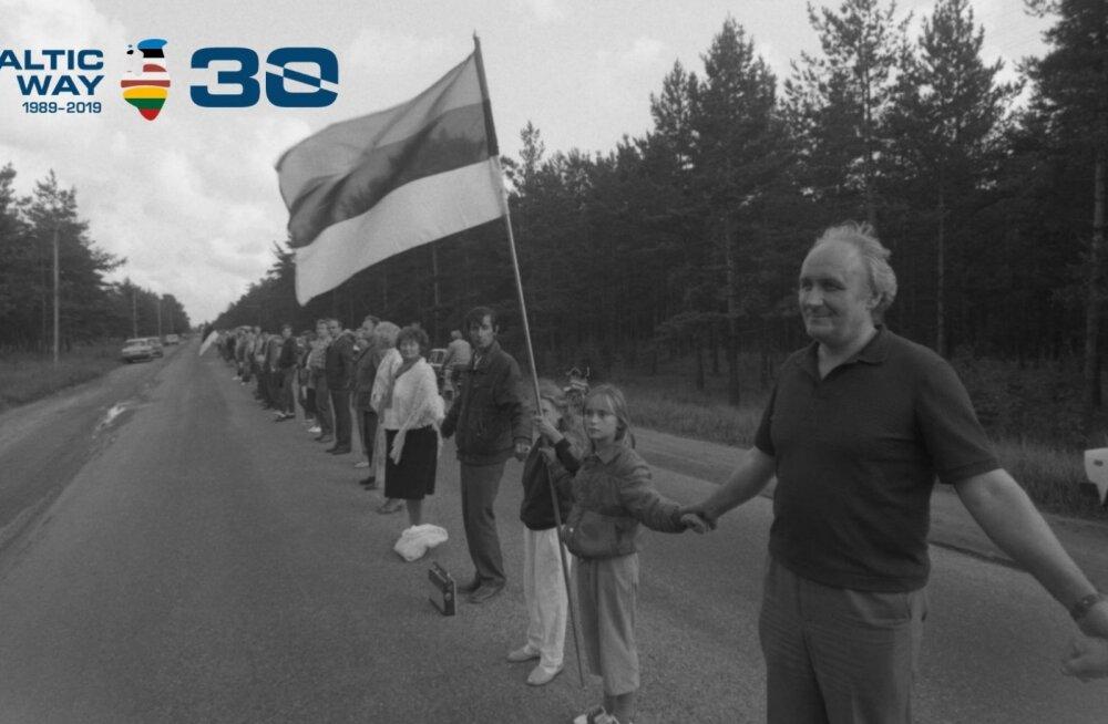 Сегодня отмечается 30-летие Балтийской цепи: как будут вспоминать это событие в Эстонии?