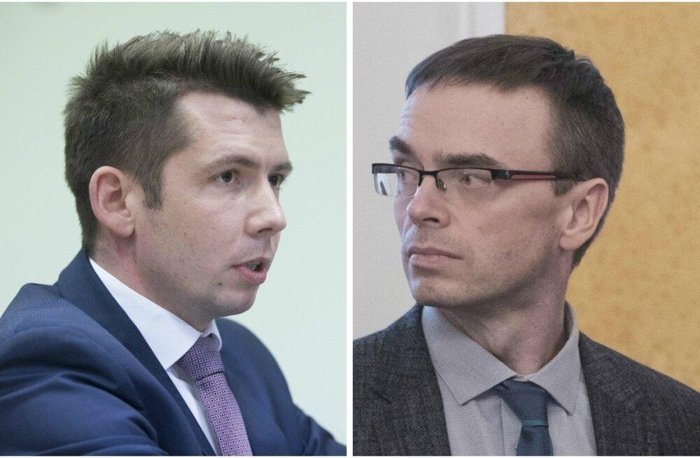 Martin Repinski ja Sven mikser