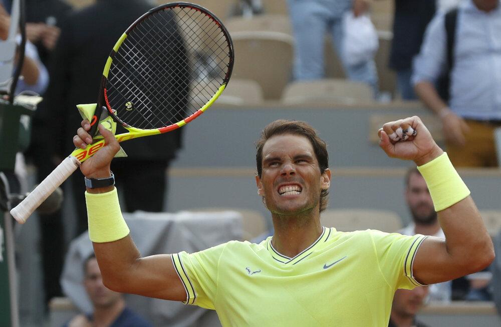 French Openi poolfinaalis lähevad vastamisi Rafael Nadal ja Roger Federer