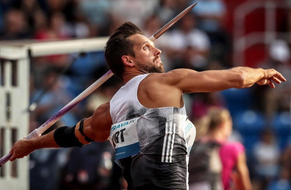 Magnus Kirt ületas Tšehhis ja Soomes päevase vahega 90 meetri joone.