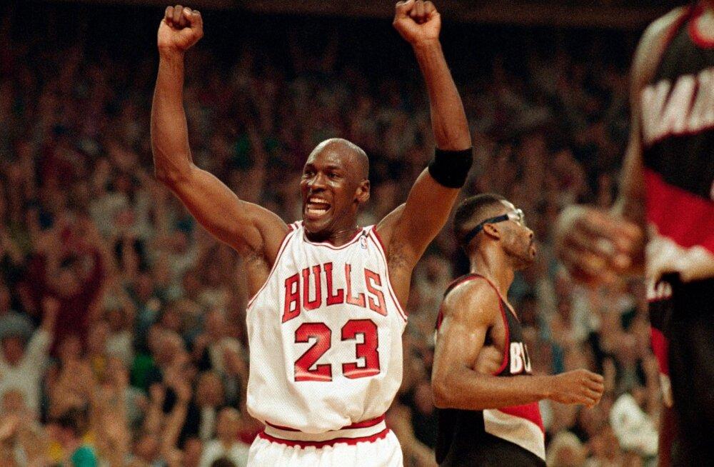 Michael Jordan pakub siiamaani kõneainet.