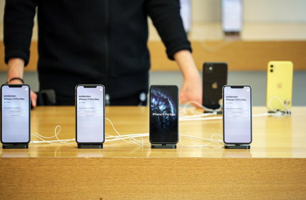 Tuuluta rahakotti: Eesti telekomiettevõtted alustasid uute iPhone'ide müüki