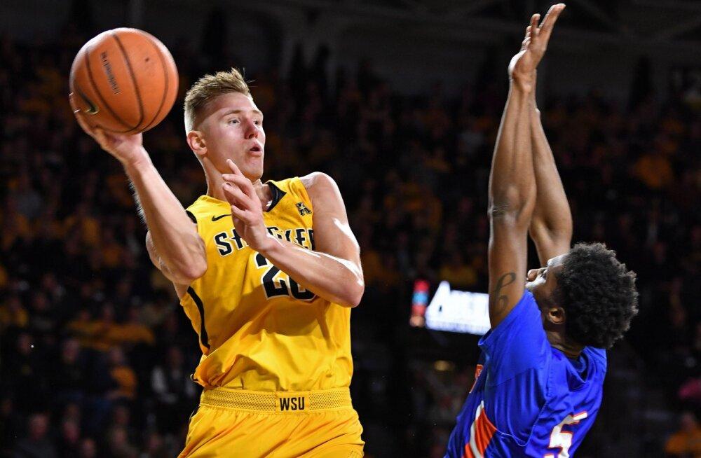Nurger ja Wichita State pääsesid NCAA finaalturniirile