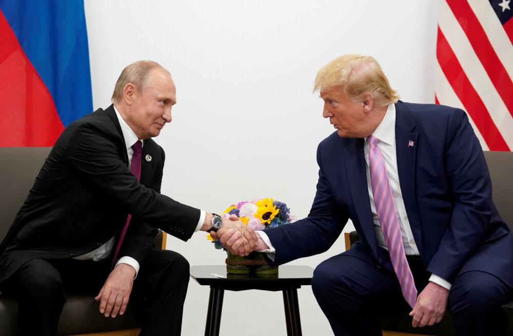 Suurbritannia ja Kanada ajasid sõrad vastu Trumpi soovile Venemaa G7-sse tagasi võtta