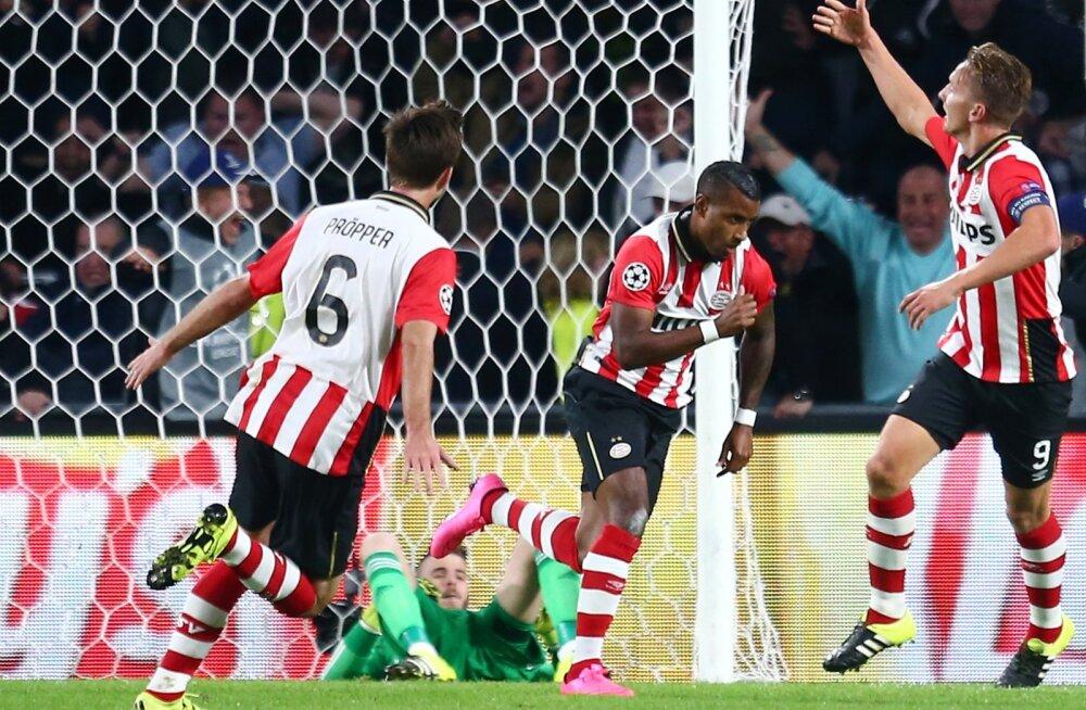 PSV lõi Manchester Unitedit