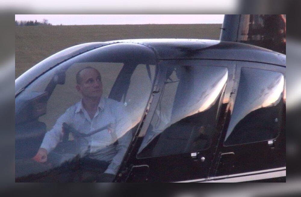 FOTOD: Sõnajalad lendasid pojale appi helikopteriga