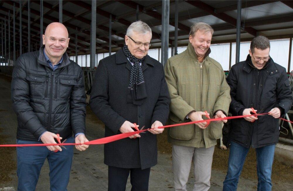 Kaiu farmi uue laudakompleksi avamine.