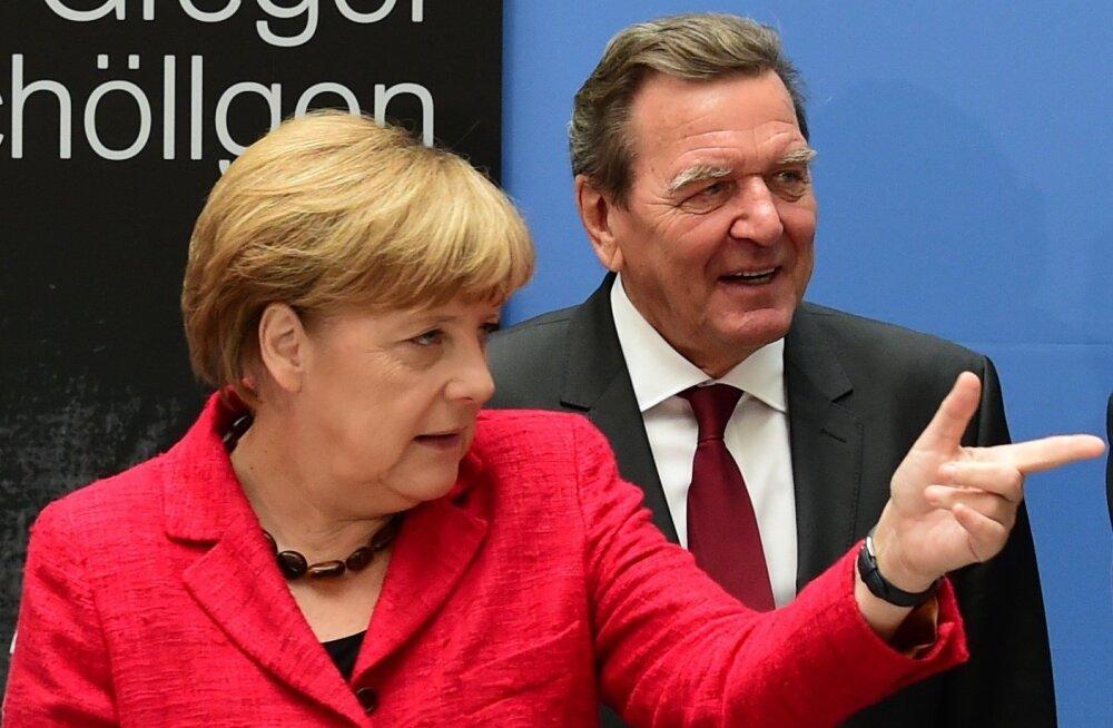 Merkel ei pea Schröderi Rosnefti nõukogusse kandideerimist õigeks