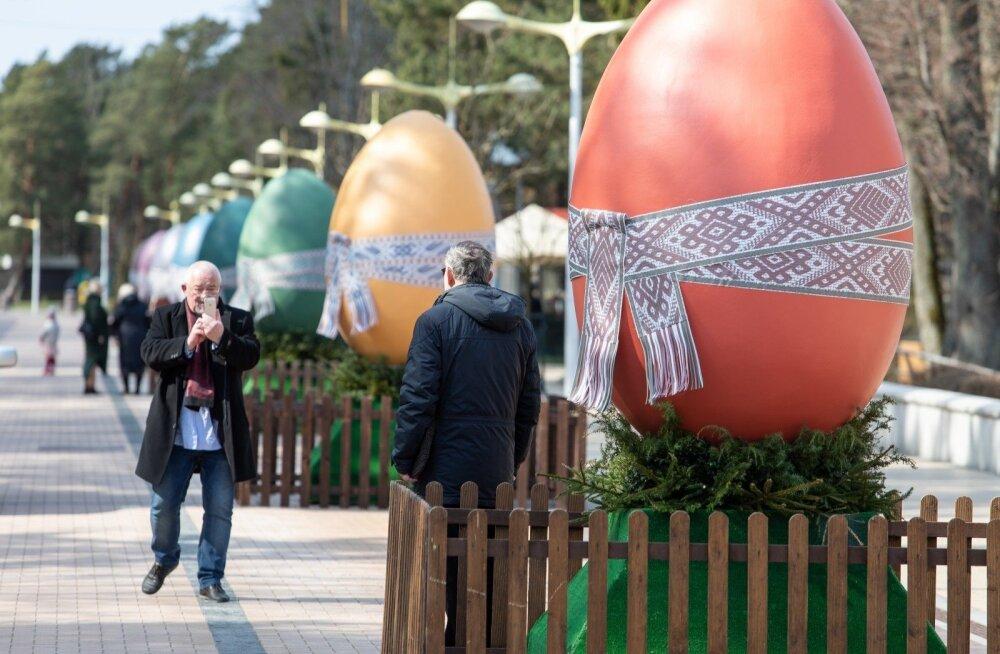 ФОТО: Смотрите, как Палангу украсили к Пасхе