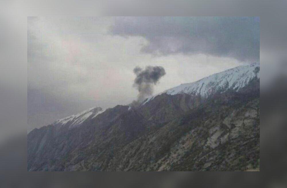 Турецкий самолет разбился в Иране: на борту находилось от 11 до 20 человек