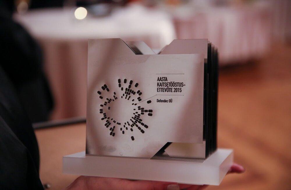 Eesti Kaitsetööstuse Liidu aasta ettevõte Defendec