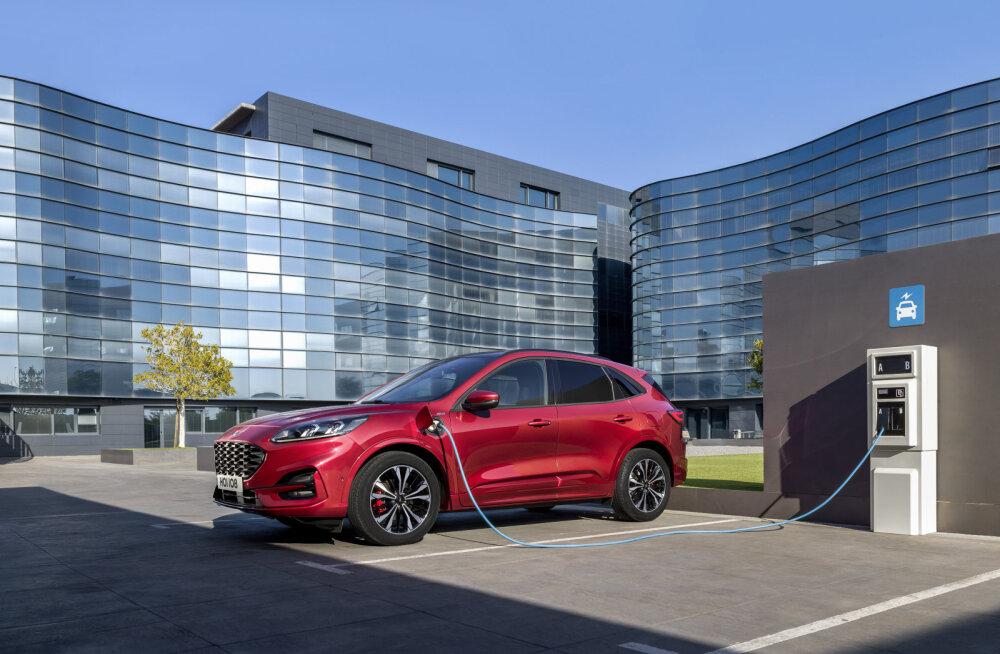 Ford elektrifitseerib kõik mudelid, esimest korda jõuab Euroopasse noobel Explorer