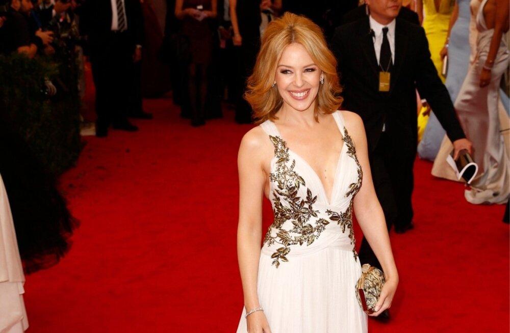 Kylie Minogue vahetas 28aastase kallima 57aastase prints Andrew vastu