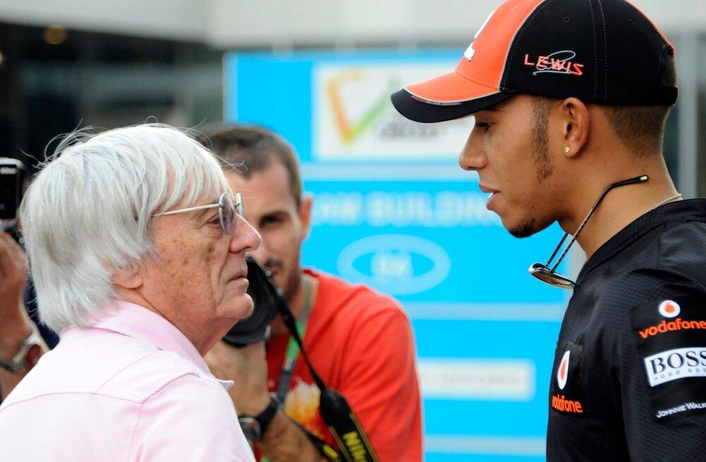 Endine F1-sarja eestvedaja Bernie Ecclestone: tumedanahalised on tihti rassistlikumad kui valged