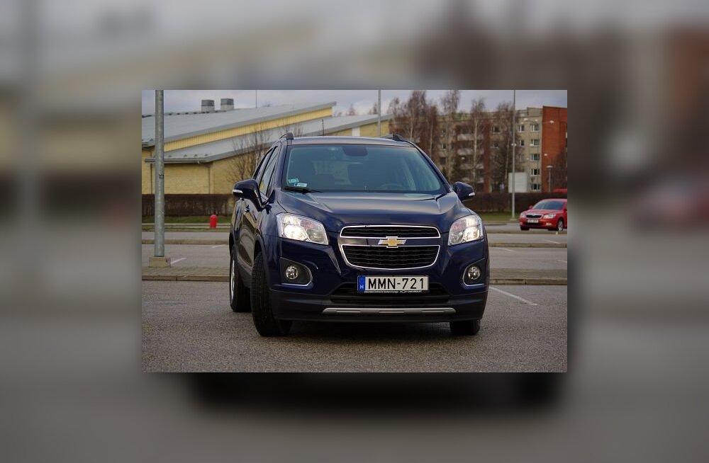 Chevrolet Trax: musklis linnaauto