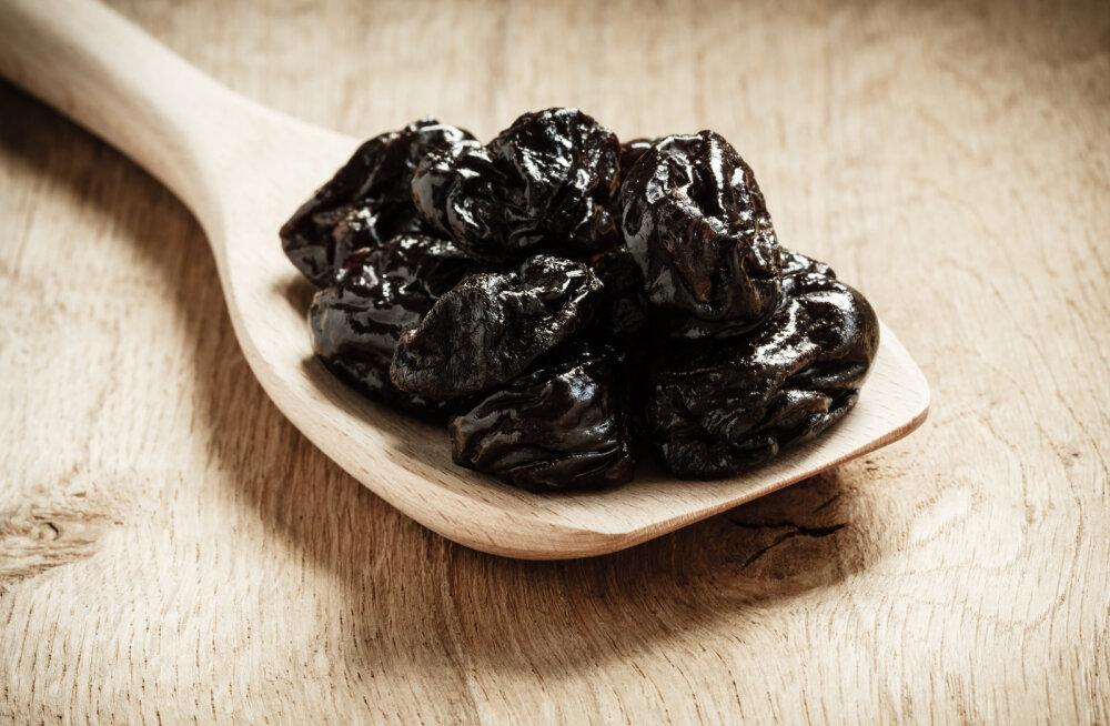 Kuivatatud ploom on terviseamps — miks neid süüa?