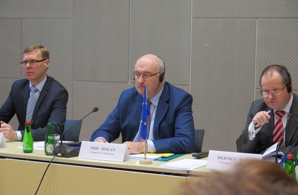 Kohtumine EK põllumajandusvoliniku Phil Hoganiga
