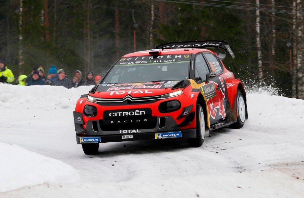 Espekka Lappi Rootsi rallil.