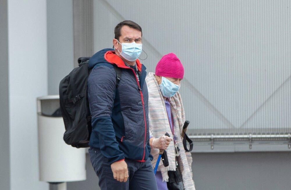 Maskid linnas 30.09.2020