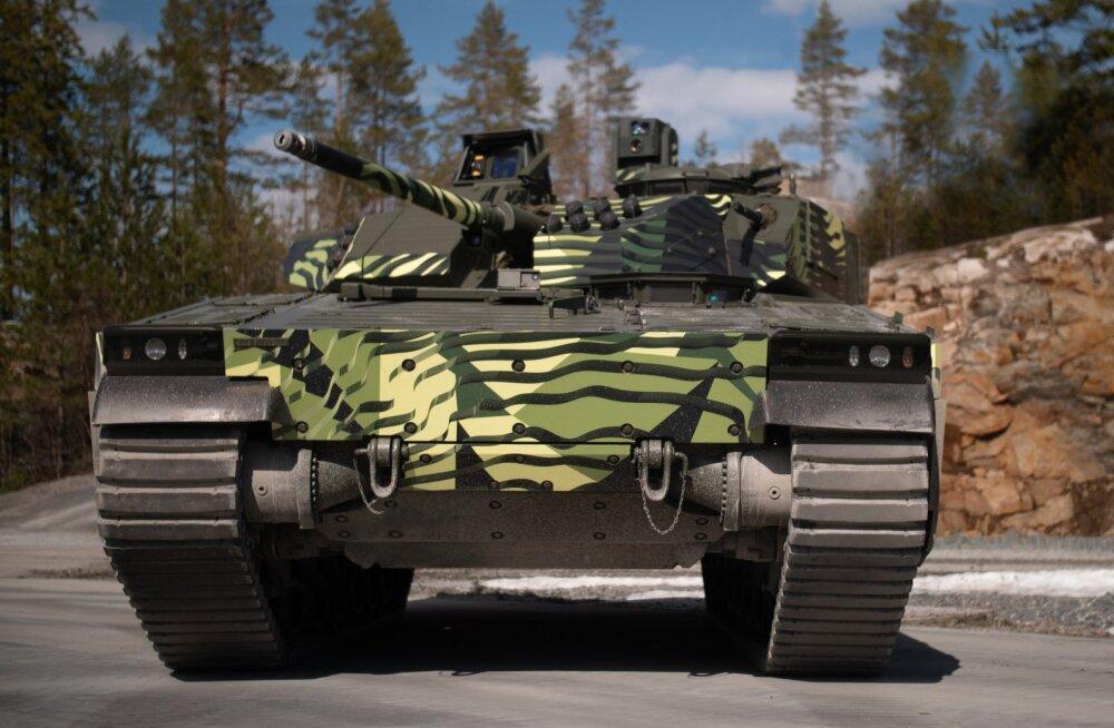Jalaväe lahingmasina CV90 uus põlvkond: võimsam mootor ja targemad lahendused