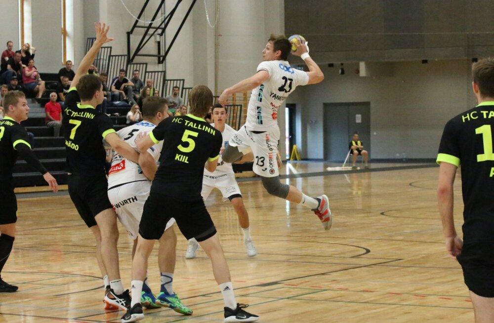 Tallinna rahvusvahelise käsipalliturniiri võitis kaotuseta jäänud Kehra